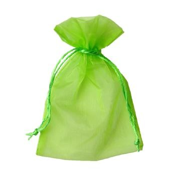 Organza Säckchen 17 x 24 cm - hellgrün