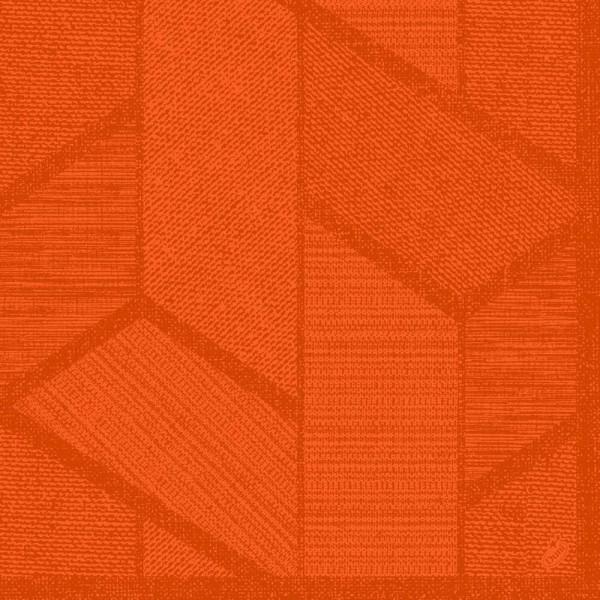 DUNI Dunisoft Serviette 40x40 cm 1/4F.Elwin Mandarin