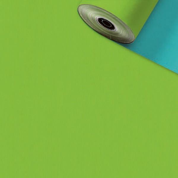 Geschenkpapier Rolle 50cm 250Meter hellblau/hellgrün