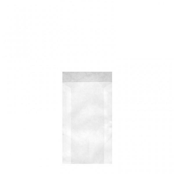 Zweinaht-Flachbeutel Typ 703 6.3x9+2 cm