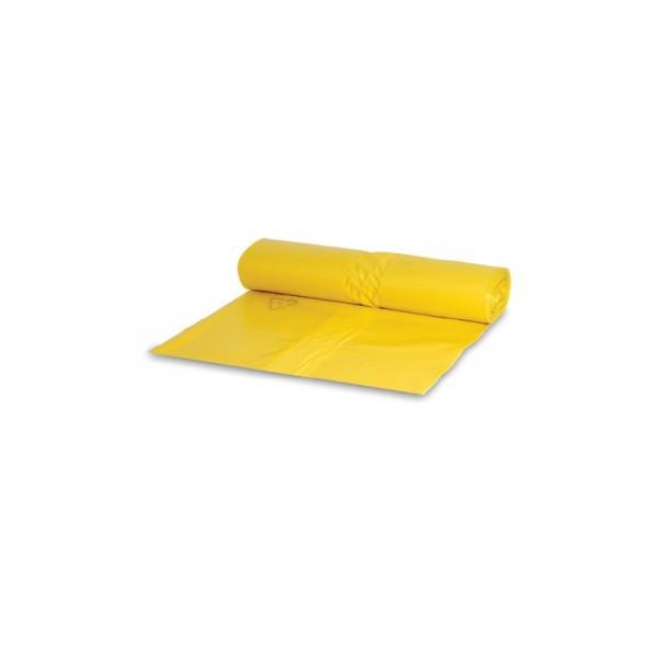 Müllsack 120L gelb 70x110cm