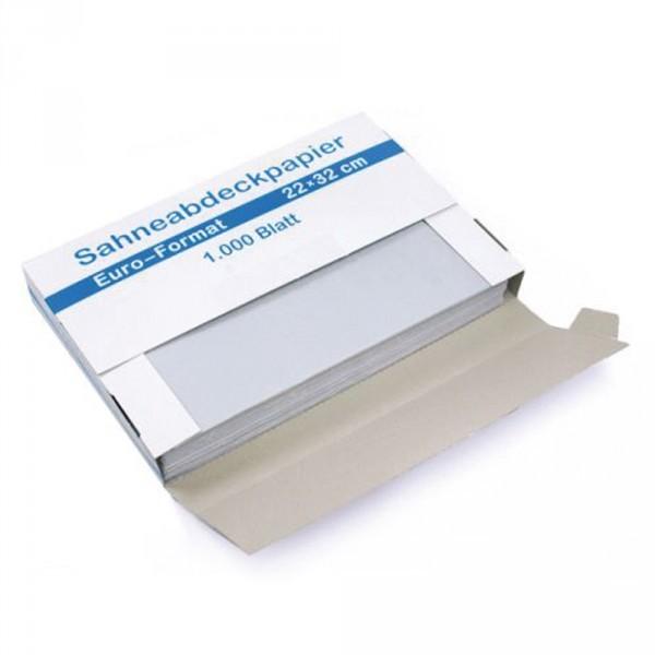 Sahneabdeckpapier 22x32cm 1/8 Bg.