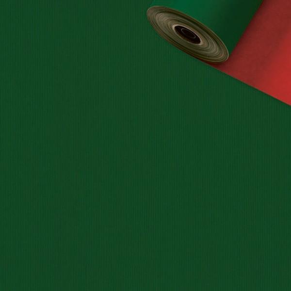 Geschenkpapier Rolle 50cm 50Meter grün/rot
