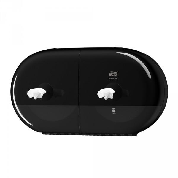 Tork SmartOne® Mini Doppelrollenspender schwarz
