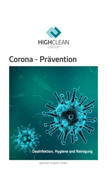 Corona Präventionsbroschüre