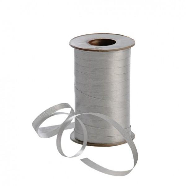 Polyband matt 7,5mm 180Meter silber