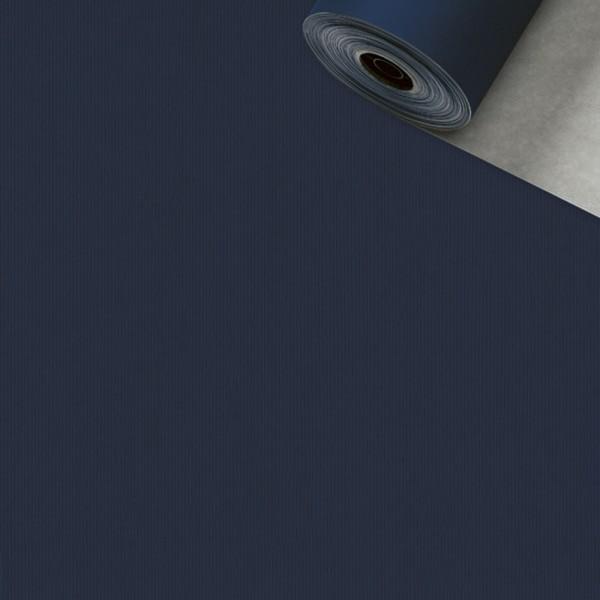 Geschenkpapier Rolle 50cm 50Meter 2-seitig blau/silber