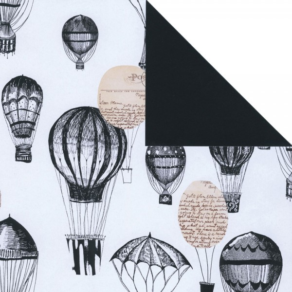 Geschenkpapier Rolle 50cm 50Meter Ballon