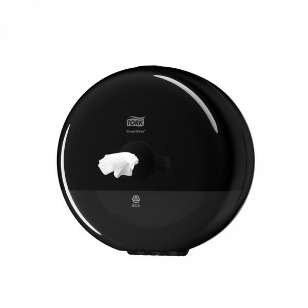 Tork SmartOne® Mini Spender für Toilettenpapier schwarz