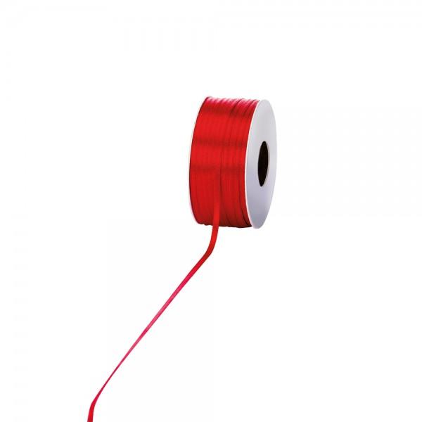 Satinband 3mm 100Meter Rot