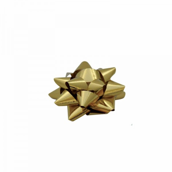 Fertigschleifen Ø5cm gold metallic 634