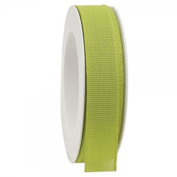 Leinenband biologisch abbaubar 25mm/20Meter Spring Kiwi