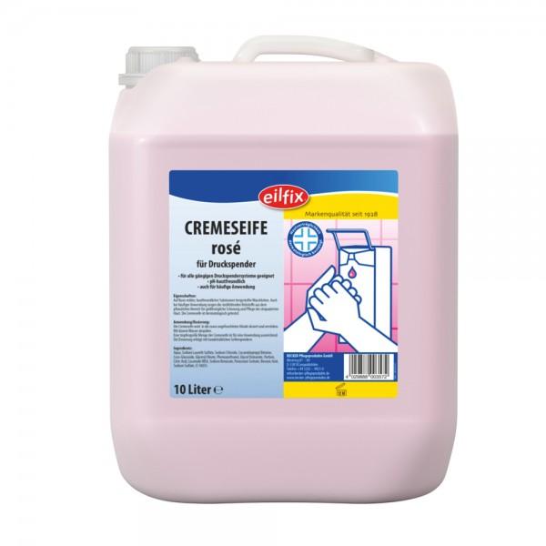 Eilfix Seifencreme Rose Kanister 10 Liter