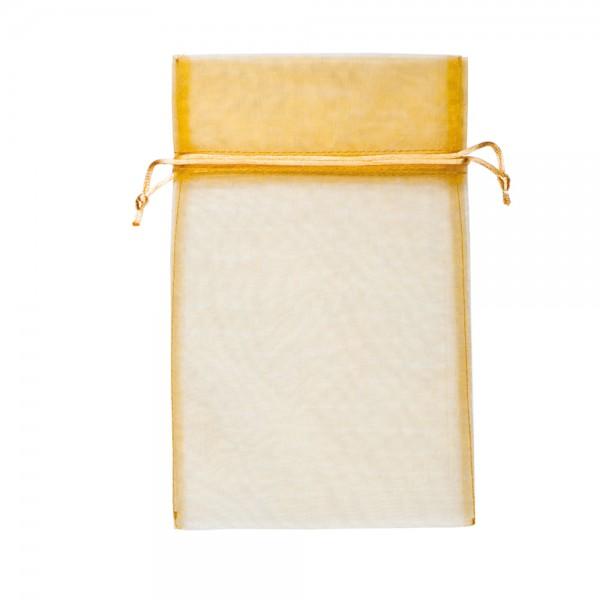 Organza Säckchen 20 x 30 cm - gold