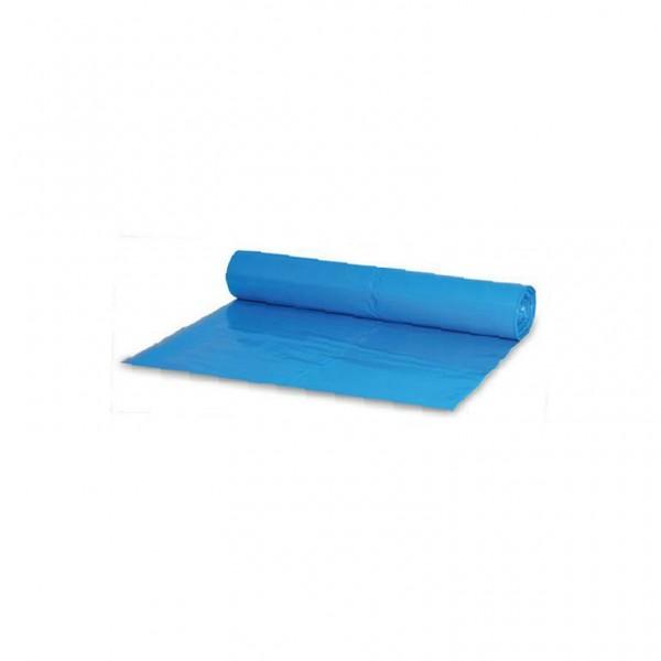 Müllsack 120L. blau 80x100cm