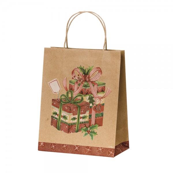 Papier Tragetaschen Geschenk Gavor 26,4x13,6x32,7 cm