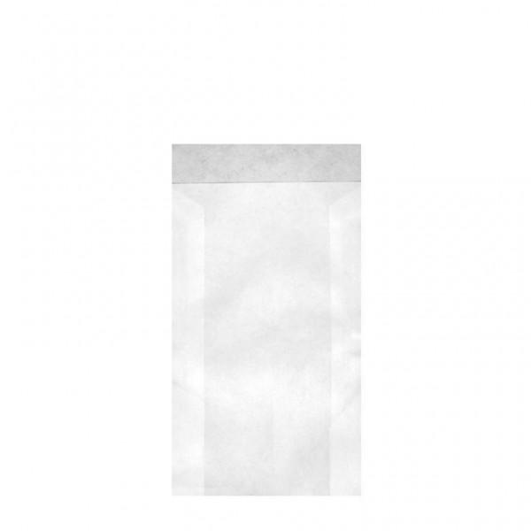 Zweinaht-Flachbeutel Typ 707 8.5x13+2 cm
