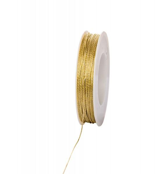 Goldkordel 1mm 100 meter