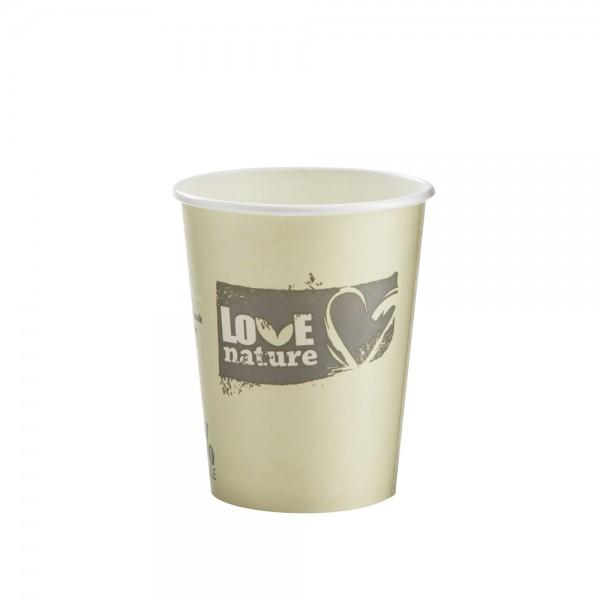 Heißgetränkebecher 100% kompostierbar 300 ml