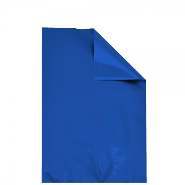 Geschenktasche aus Folie blau matt 35x50 cm