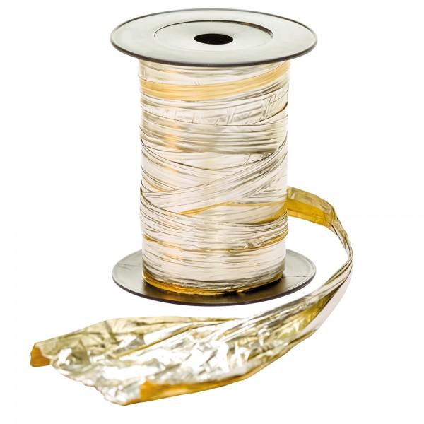 Crash Folie auf Rolle 125mm 50Meter silber/gold