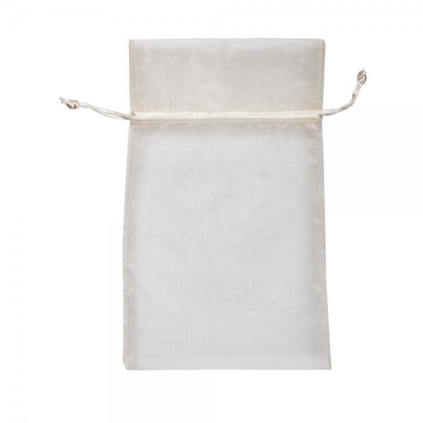 Organza Säckchen 20 x 30 cm - creme