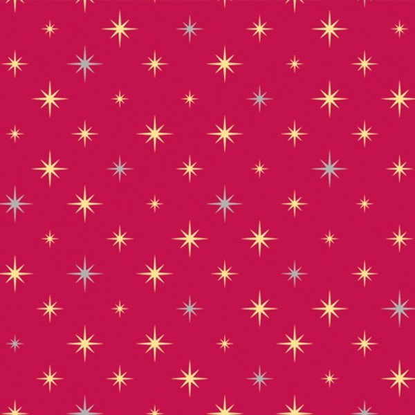 Geschenkpapier Rolle 30cm 100Meter Himmelszelt rot