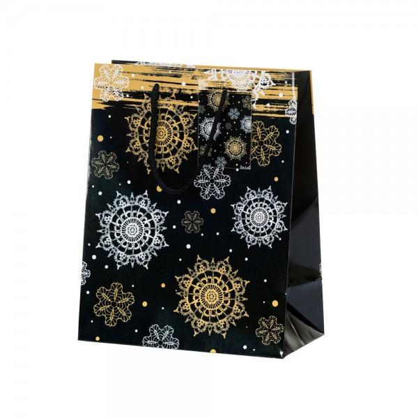 Tragetaschen Starshower schwarz 18x10x23 cm