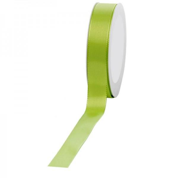 Geschenkband Stoff 25mm / 50Meter hellgrün