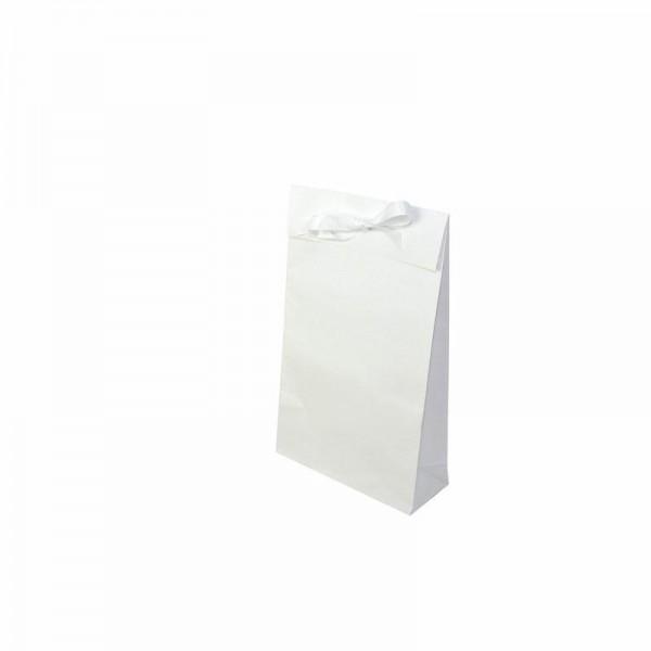 Geschenktasche weiß 200x80x330+55mm