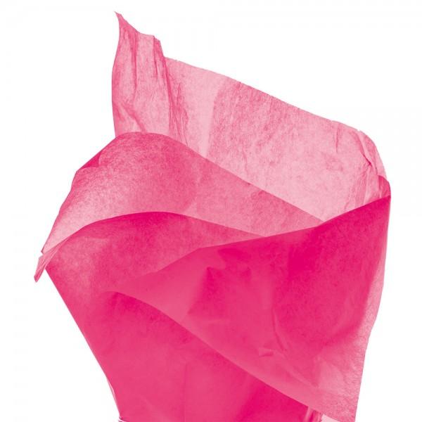 Seidenpapier Bogen 50x76 cm pink