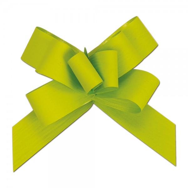 Ziehschleife Ø8cm 19mm grün