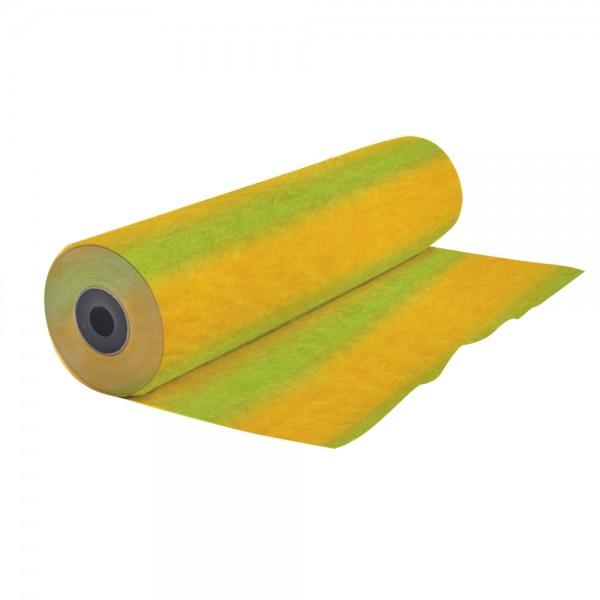 Konditor - Einschlag 50 cm Streifen gelb maigrün