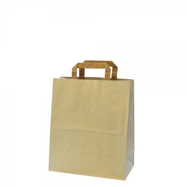 Graspapier Tragetasche 18x12x28cm
