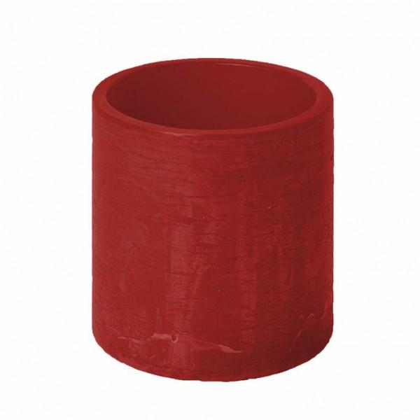 Wachszylinder rot Ø13.5h15cm