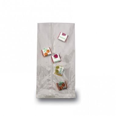 Flachbeutel Klarsicht 3,5x8,5cm transparent