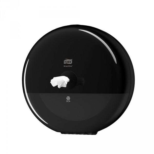 Tork SmartOne® Spender für Toilettenpapier schwarz
