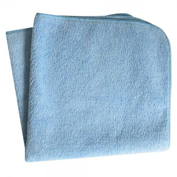 Microfasertuch 50 x 70 cm blau mit Aufhänger