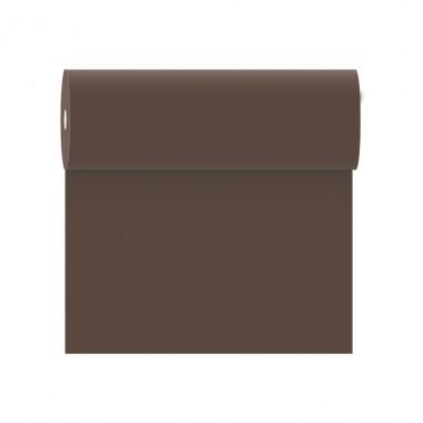 Airlaid Téte-à-Téte Tischläufer chocolat