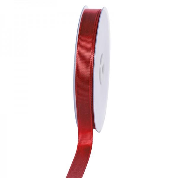 Geschenkband Grosgrain 16 mm/50Meter bordeaux