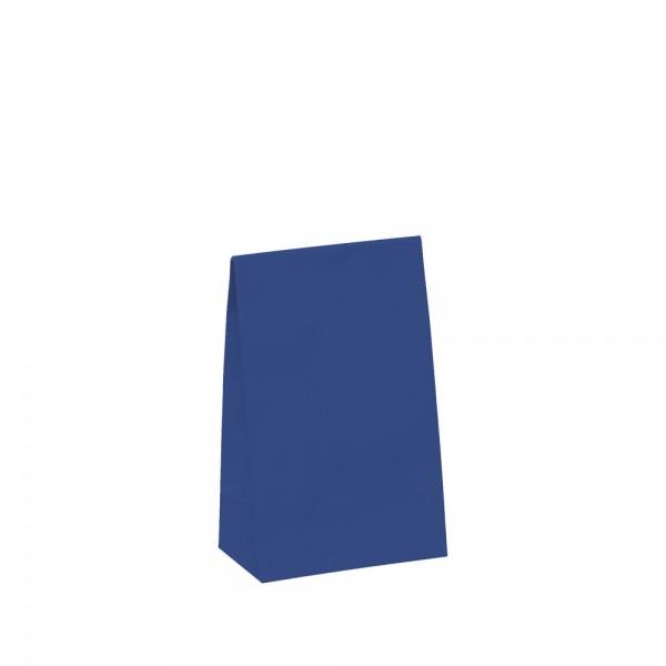 Geschenktasche 10x6x15,7+4,2cm blau