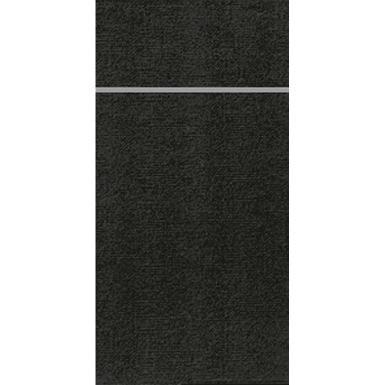 DUNI Bestecktasche Duniletto SLIM 40x33 cm schwarz