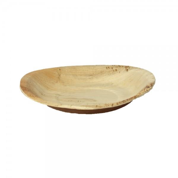 Teller rund aus Palmblatt Ø 30 cm, 2,5 cm tief