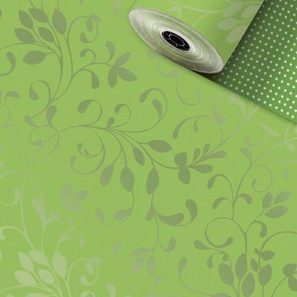 Geschenkpapier-Rolle 30cm 250m Miron kiwi