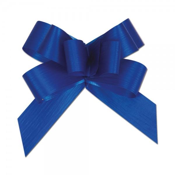 Ziehschleife Ø8cm 19mm dunkelblau