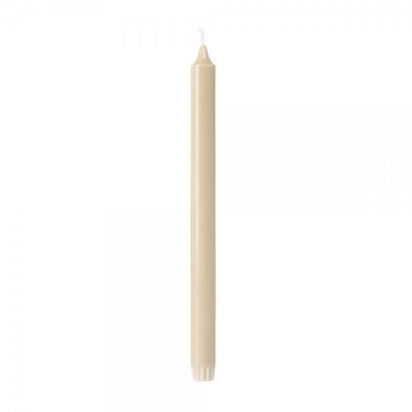 DUNI Kronenkerzen 100% Stearin 300x22mm Sand