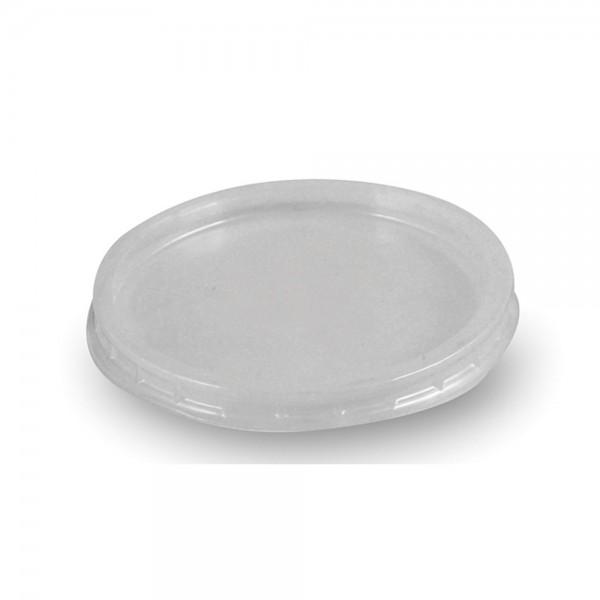 Deckel für Becher 70.3mm klar 100D rund