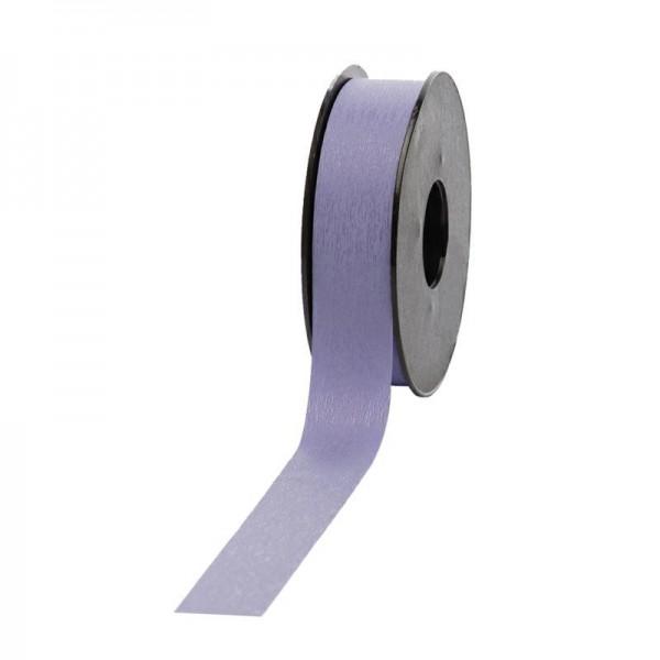 Polyband matt 25mm 45Meter flieder