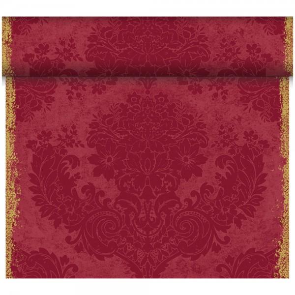DUNI Tete-A-Tete Tischläufer Dunicel Royal Bordeaux