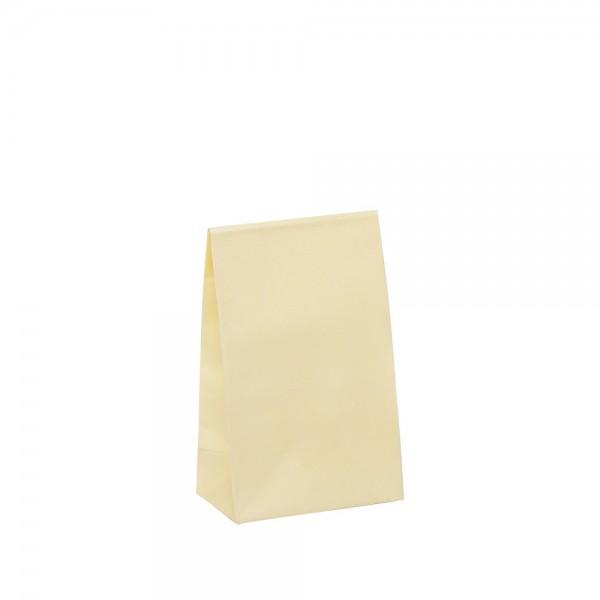 Geschenktasche 10x6x15,7+4,2cm creme